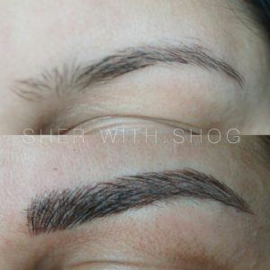 what is permanent make-up eyebrows