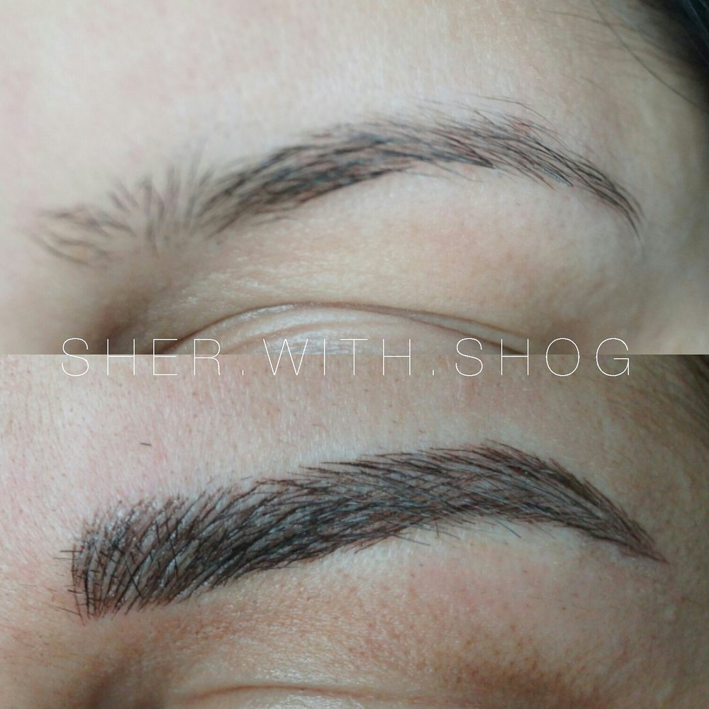 permanent make-up eyebrows Glendale CA