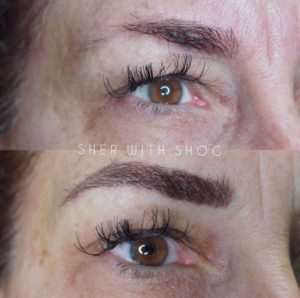 what is permanent makeup eyebrows