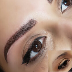 microblading shading eyebrows in Glendale CA